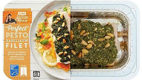 Jumbo waarschuwt voor pesto in Jamie Oliver producten