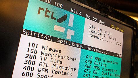 RTL gaat stoppen met teletekst