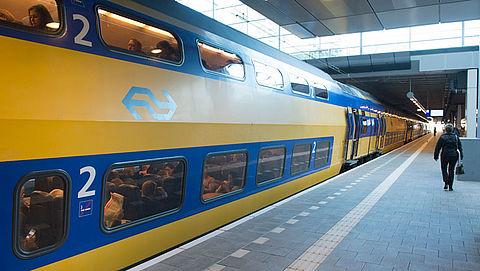 NS experimenteert met reclame in de trein