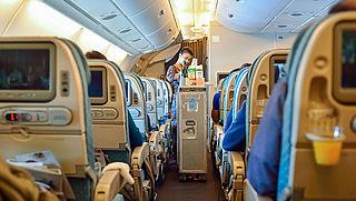 Vliegtuigmaaltijd in gevaar door stiptheidsactie KLM-medewerkers