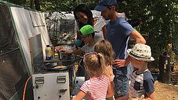 Koken op de camping: wat kookt een chefkok voor z'n gezin?