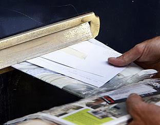 Minder reclame in de brievenbus
