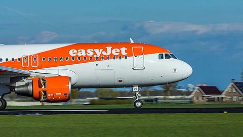 Stoel zonder rugleuning in vliegtuig easyJet