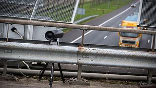 Nieuwe flitsapparaten verstopt bij wegwerkzaamheden