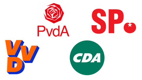 Makelaars schenden erecode – Reacties van VVD, CDA, PvdA en SP