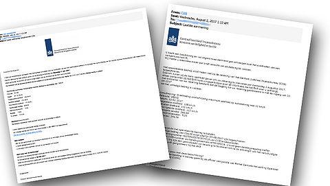Let op: valse mails over boete van 'CJIB' in omloop!}