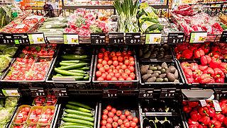 'Brandmerk in plaats van plastic voor biologische groenten en fruit'