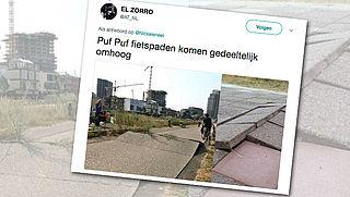 'Ongelukken op fietspad door losgeraakte tegels'