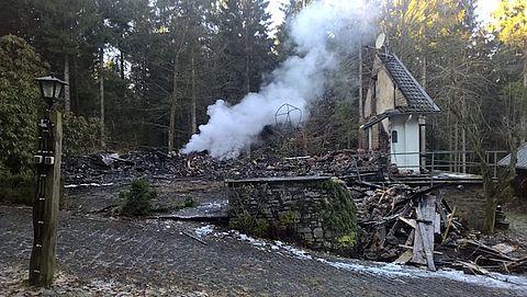 Bestelling annuleren niet mogelijk na brand vakantiehuisje