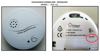 Koolmonoxidemelder slaat geen alarm bij dodelijke gasconcentratie