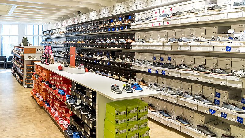 'Schoenenwinkels lijden onder concurrentie met webwinkels'