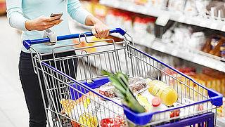 Hamsteraars veroorzaken lege schappen in de supermarkt