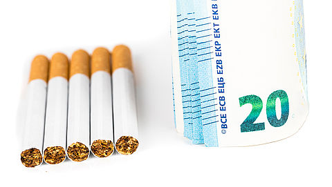 'Pakje sigaretten moet 20 euro kosten'