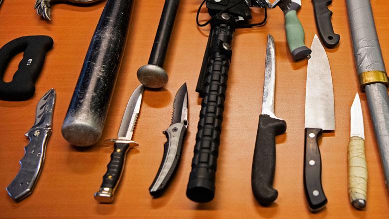 Verbod op verkoop messen aan minderjarigen
