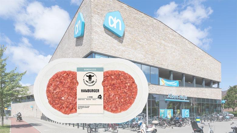 Terugroepactie AH: 'E. coli bacterie in runderhamburgers'