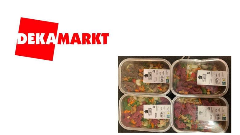 Beef Teriyaki van DekaMarkt uit schap gehaald