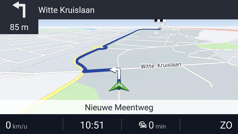 Navigatie-app: Here (foto)