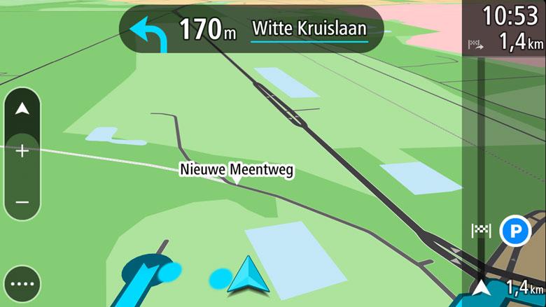 Navigatie-app: TomTom (foto)