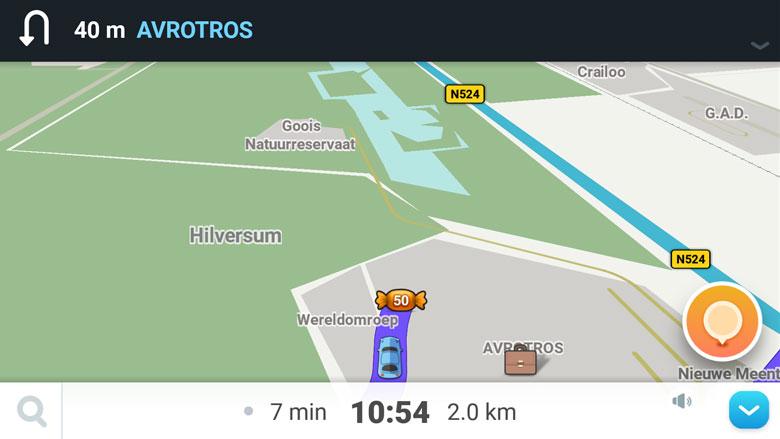 Navigatie-app: Waze (foto)