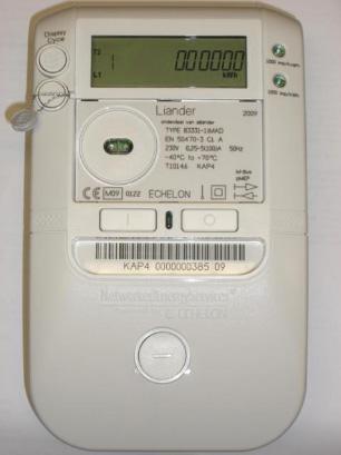 Slimme meter - Merk: Echelon | Type: 83331-1IMAD | Metercode: KAP4