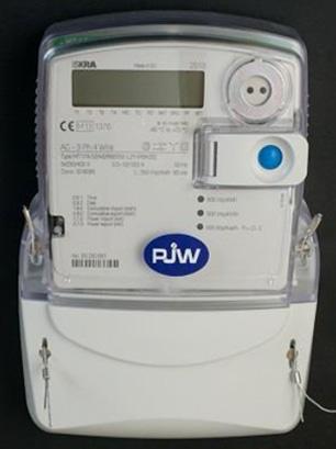 Slimme meter - Merk: Iskra | Type: MT171-D2A52 | Metercode: RBEN