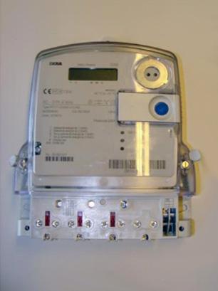 Slimme meter - Merk: Iskra | Type: MT171-D2A52 | Metercode: ZBER