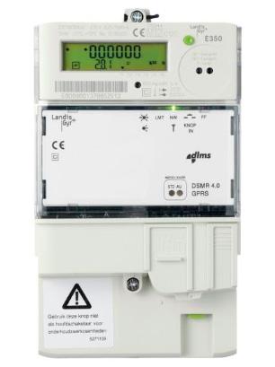 Slimme meter - Merk: Landis + Gyr | Type: ZCF110CBtFs2 | Metercode: E0004