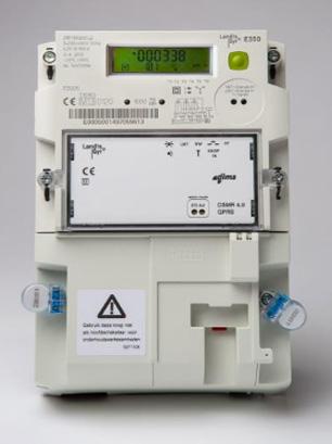 Slimme meter - Merk: Landis + Gyr | Type: ZMF110CBtFs2 | Metercode: E0005