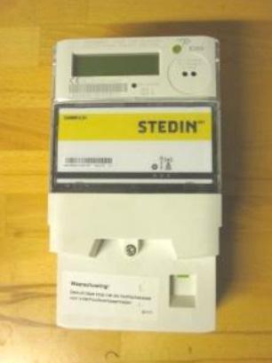 Slimme meter - Merk: Landis + Gyr | Type: ZCF120ABd(F)s2 | Metercode: KAAE