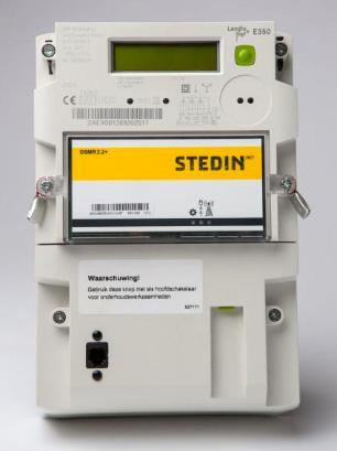Slimme meter - Merk: Landis + Gyr | Type: ZMF120ABdFs2 | Metercode: ZAEX