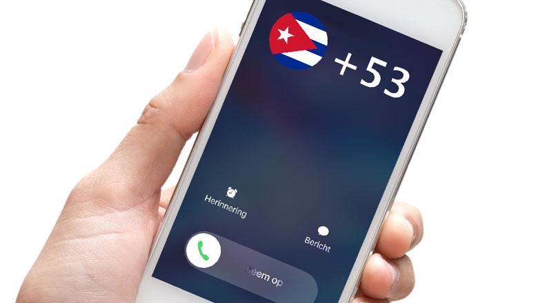 Pas op voor +53-telefoontjes!
