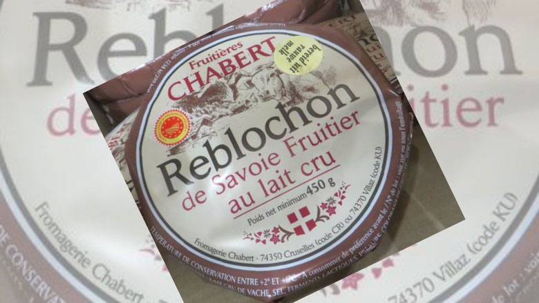 Franse kaas Reblochon Cambert mogelijk besmet met poepbacterie