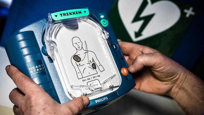 'Gebruik AED bij reanimatie'