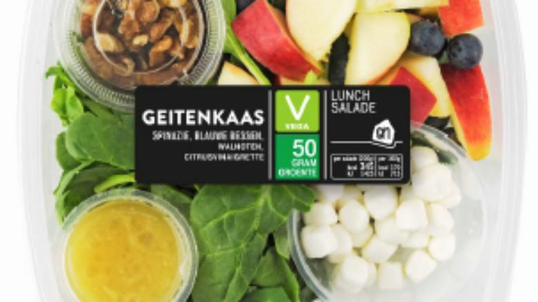 Albert Heijn haalt geitenkaassalade terug wegens verkeerd etiket