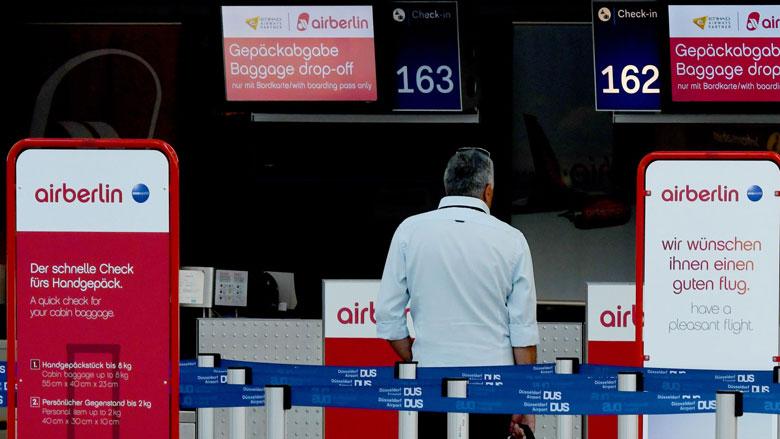 'Reiziger Air Berlin blijft met kosten zitten'