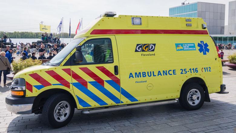 'Zorgverzekeraar, zorg voor snelle ambulance'