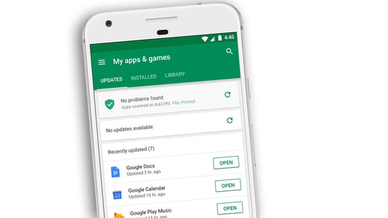 Nieuwe versie Android bevat ingebouwde virusscanner