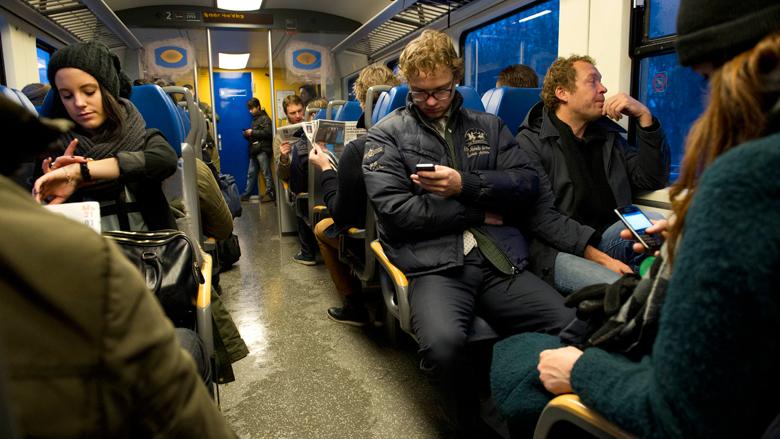 Bus als alternatief voor drukke trein