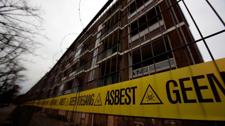 Asbest verwijderen kan sneller en goedkoper