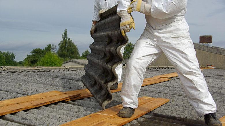 Normale oplossing voor normaal asbestprobleem