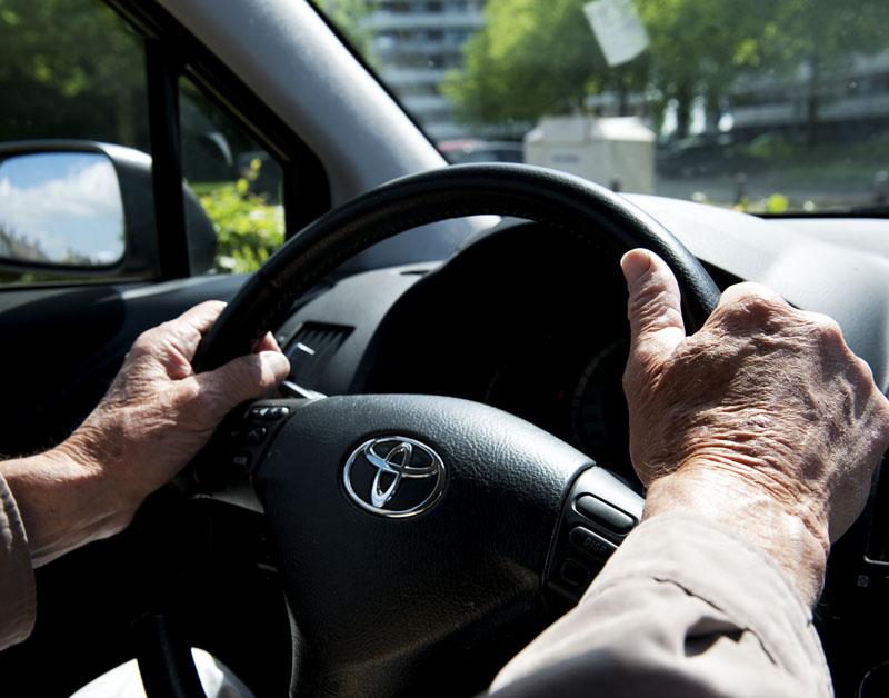 'Verkeerstest voor oudere automobilist'