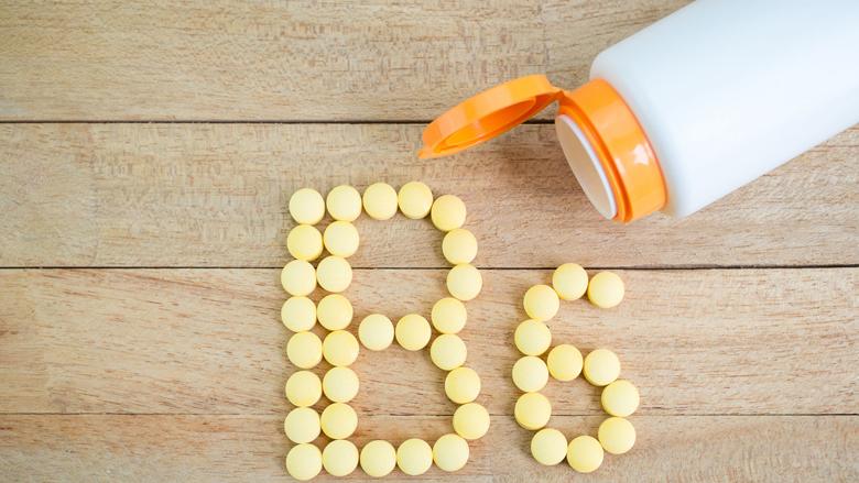 Vitamine B6-pillen krijgen maximumnorm