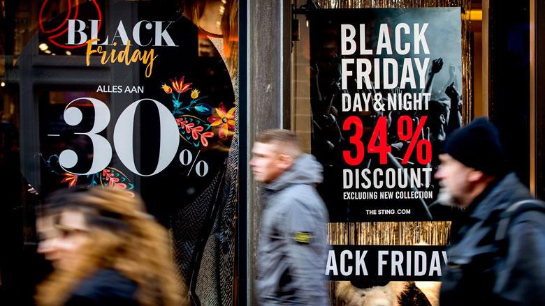 'Black Friday raakt ingeburgerd in Nederland'