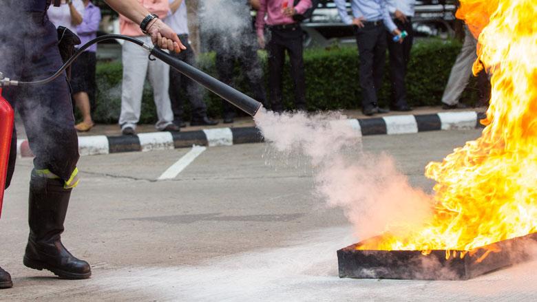 'Blus klein brandje tijdens jaarwisseling zelf'