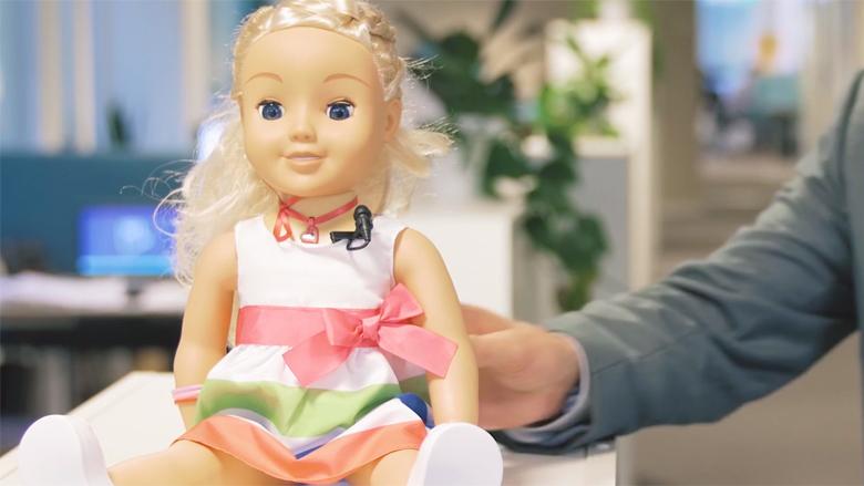 Slecht beveiligde pop Cayla uit schap gehaald