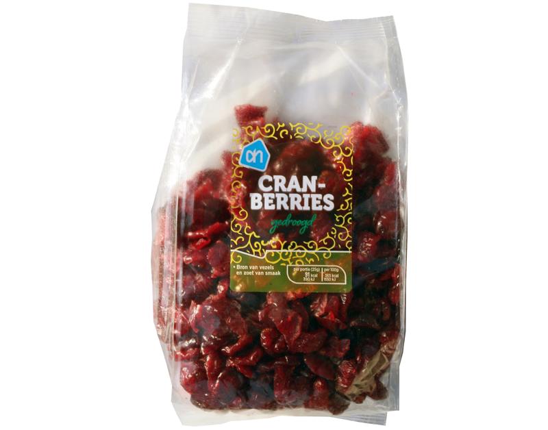 Cranberries Albert Heijn winnen 'Gouden Windei'