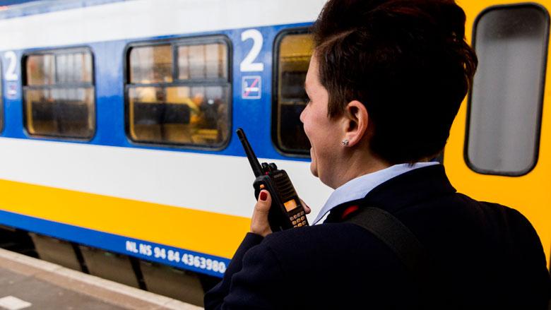 ProRail: niet eerder reden treinen zo vaak op tijd als in 2017