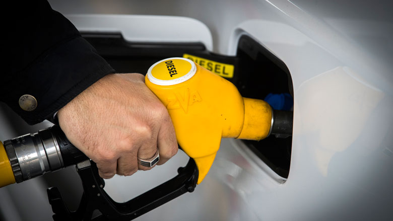 Minder nieuwe dieselauto's verkocht