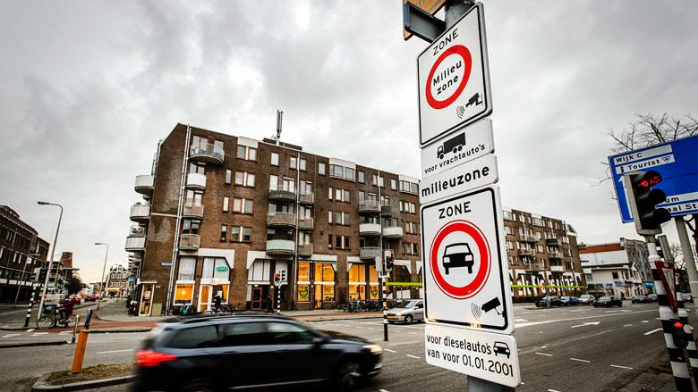 Steeds minder vervuilende dieselauto's in Nederland