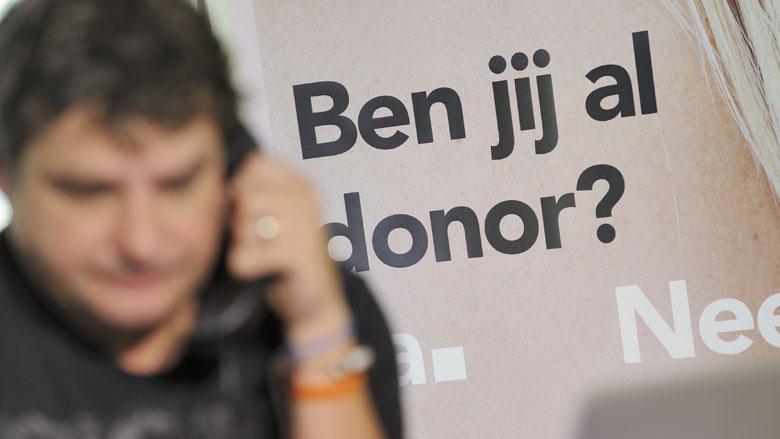 Niet genoeg steun voor donorplan D66